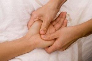 relexology hand